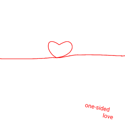 one-sided love - 占い