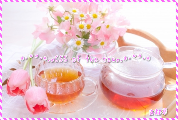 *・゜゚・*.。CSS of the tea。.*・゜゚・* - 占い